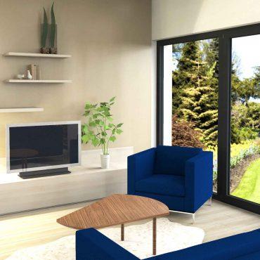 architecte interieur decoration 3D virtuelle bois maison cuisine salle de bain plan