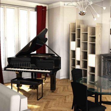 architecte intérieur architecte d'intérieur interieur architecture décorateur decoration décoration plans esquisses meuble mobilier sur-mesure sur mesure cuisine aménagée salle de bain douche