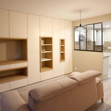 architecte intérieur architecte d'intérieur interieur architecture décorateur decoration décoration plans esquisses meuble mobilier sur-mesure sur mesure cuisine aménagée 3D conception rangements cocoon